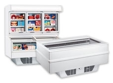 Open Display Freezers
