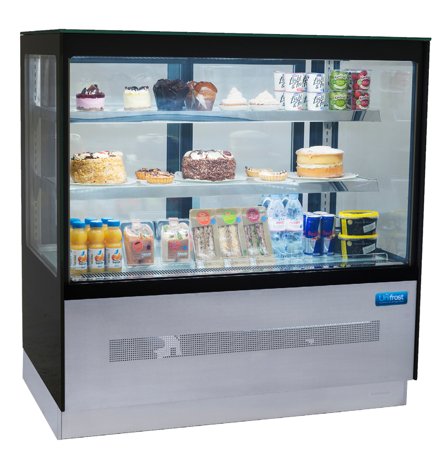 Unifrost SDV120S Glass Display Fridge
